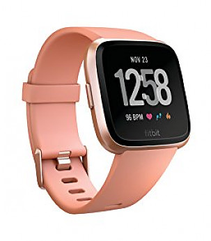 Versa (NFC), Peach / Rose Gold Aluminum