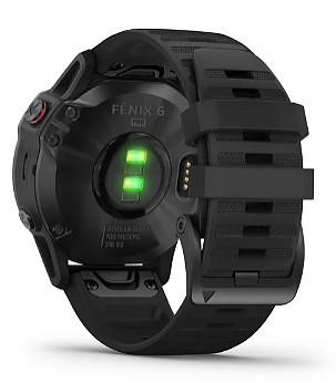 fenix 6 PRO Black with Black Band