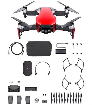 Mavic Air Combo Red drone